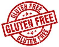 El gluten libera el sello ilustración del vector