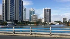 El Gold Coast en el día Fotografía de archivo