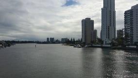 El Gold Coast en un día nublado Imagen de archivo