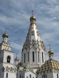 El Golden Dome del templo Fotografía de archivo
