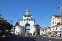 El Golden Gate de la ciudad de Vladimir, Rusia fotos de archivo libres de regalías