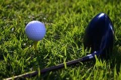 El Golfing Imagen de archivo libre de regalías