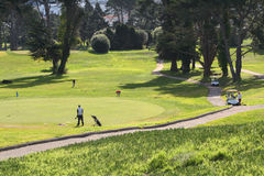 El Golfing Fotos de archivo