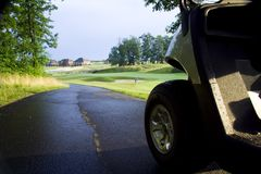 El Golfing Fotos de archivo libres de regalías