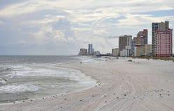 El golfo apuntala Alabama foto de archivo libre de regalías