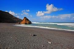 El Golfo bay, Western Lanzarote Stock Photography