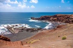 El Golfo beach Stock Photo