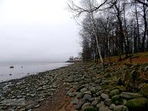 El golfo de Finlandia imagen de archivo
