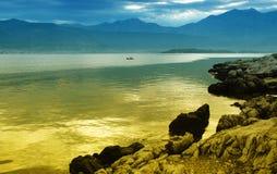 El golfo de Kotor, Montenegro Fotografía de archivo libre de regalías