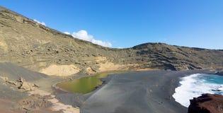 EL Golfo 003 de Lanzarote Imagen de archivo libre de regalías