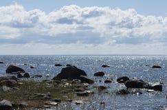 El golfo del mar Báltico foto de archivo libre de regalías