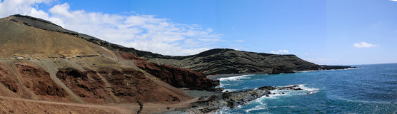 El Golfo krajobraz Zdjęcie Royalty Free