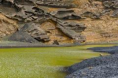El Golfo lagoon Stock Photography