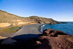 EL Golfo Lanzarote Foto de Stock Royalty Free