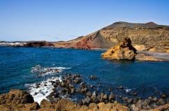 El Golfo Lanzarote Stock Photo