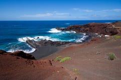 El Golfo, Lanzarote Royaltyfria Bilder
