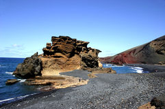El Golfo Lanzarote royalty free stock photos