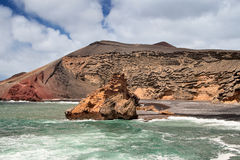 El Golfo, Lanzarote. Stock Photo