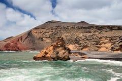 EL Golfo, Lanzarote. foto de archivo