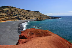 El Golfo, Lanzarote Stock Photo