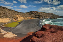 El Golfo Lanzarote Canary Islands, Spain Stock Images