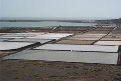 El golfo salines, lanzarote, canaria islands Stock Photos