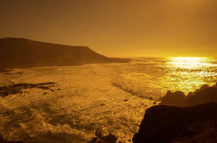 El Golfo on sunset Royalty Free Stock Images