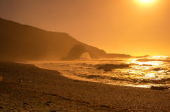 El Golfo on sunset Stock Image