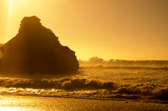 El Golfo on sunset Stock Photos