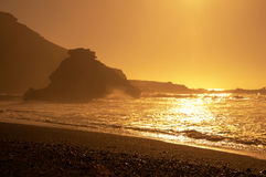 El Golfo on sunset Royalty Free Stock Photos