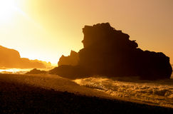 El Golfo on sunset Stock Photography