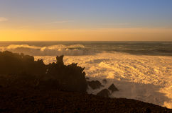 El Golfo on sunset Royalty Free Stock Image