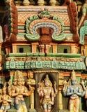 El gopuram de la deidad Fotografía de archivo libre de regalías
