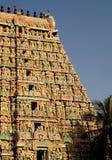 El gopuram de la deidad Fotos de archivo