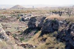 El Gordium antiguo en Turquía Foto de archivo