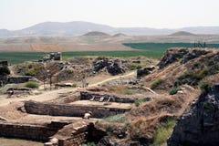 El Gordium antiguo en Turquía Fotos de archivo libres de regalías