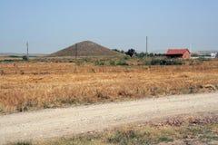 El Gordium antiguo en Turquía Fotografía de archivo
