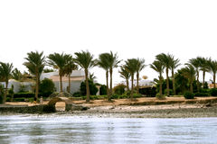 El Gouna. Canals with water of the Red sea of El Gouna, Egypt Royalty Free Stock Images