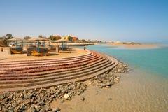 El Gouna Beach. Egypt Royalty Free Stock Image