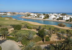 El gouna channels royalty free stock images