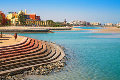 El Gouna coastline. Egypt Royalty Free Stock Photo