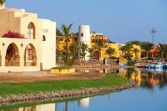 El Gouna. Egypt. View of El Gouna resort. Egypt, North Africa Stock Photography