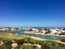 El Gouna Egypt Stock Photo