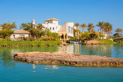 El Gouna resort. Egypt Royalty Free Stock Photo