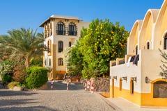 El Gouna town. Egypt Stock Image
