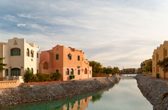 El-gouna view Royalty Free Stock Image