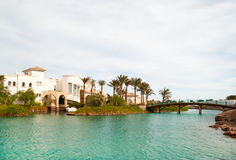 El-gouna view Royalty Free Stock Images