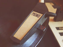 El gramófono viejo Fotografía de archivo