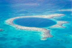 El gran agujero azul Fotografía de archivo