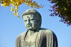 El gran Amida Buda de Kamakura (Daibutsu) en Kotoku-en el templo Fotografía de archivo